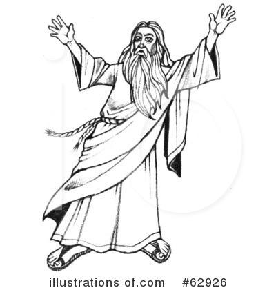 Moses Clipart #62926 by LoopyLand