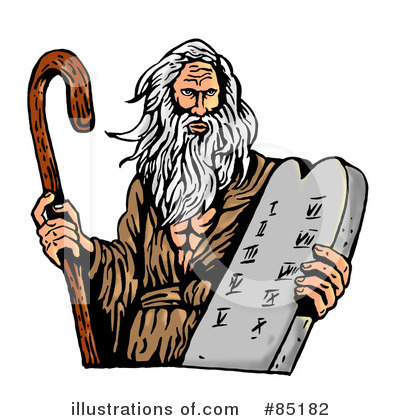 Moses Clipart #85182 by patrimonio