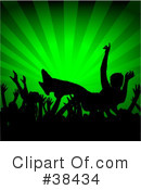 Royalty-Free (RF) Moshing Clipart Illustration #38434