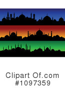 Royalty-Free (RF) Mosque Clipart Illustration #1097359