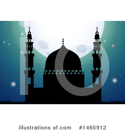 Mosque Clipart #1465912 by Graphics RF