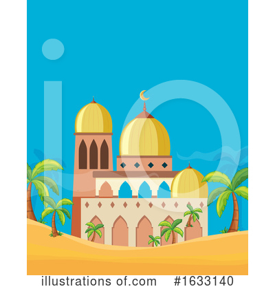 Mosque Clipart #1633140 by Graphics RF