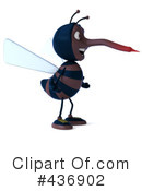 Mosquito Character Clipart #436902