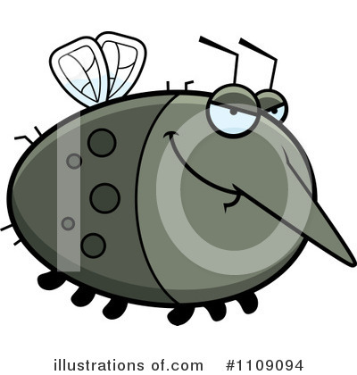 Mosquito Clipart #1109094 by Cory Thoman