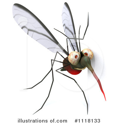 Mosquito Clipart #1118133 by Julos