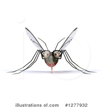 Mosquito Clipart #1277932 by Julos