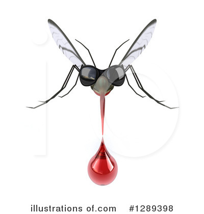 Mosquito Clipart #1289398 by Julos