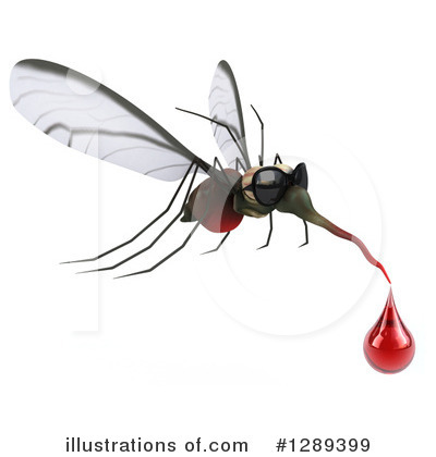 Mosquito Clipart #1289399 by Julos