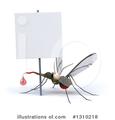 Mosquito Clipart #1310218 by Julos