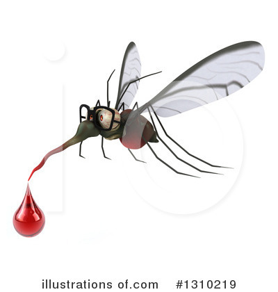 Mosquito Clipart #1310219 by Julos