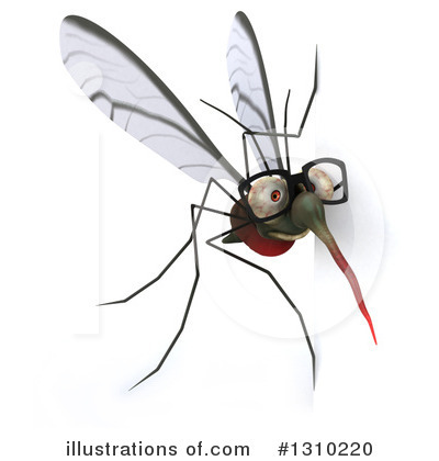 Mosquito Clipart #1310220 by Julos