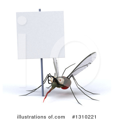 Mosquito Clipart #1310221 by Julos
