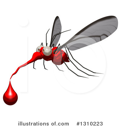 Mosquito Clipart #1310223 by Julos