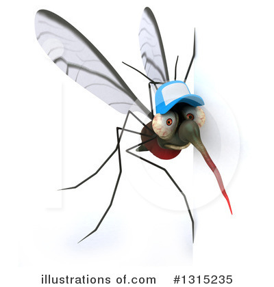 Mosquito Clipart #1315235 by Julos