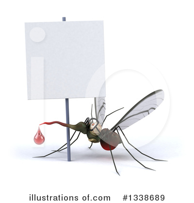 Mosquito Clipart #1338689 by Julos