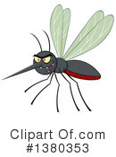 Mosquito Clipart #1380353 by Hit Toon