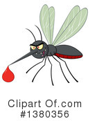 Mosquito Clipart #1380356 by Hit Toon