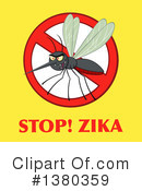 Mosquito Clipart #1380359 by Hit Toon