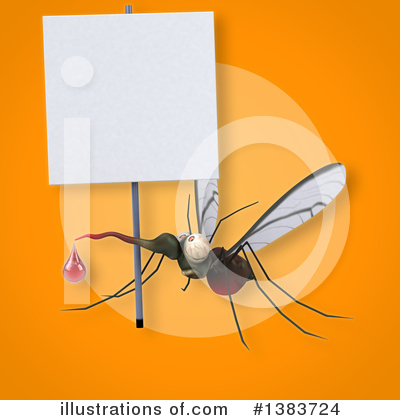 Mosquito Clipart #1383724 by Julos