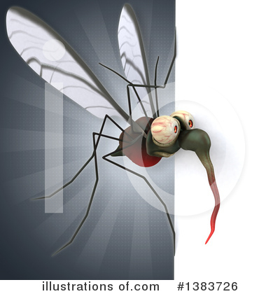 Mosquito Clipart #1383726 by Julos