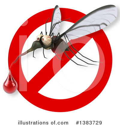 Mosquito Clipart #1383729 by Julos