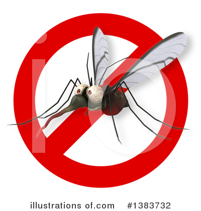 Mosquito Clipart #1383732 by Julos