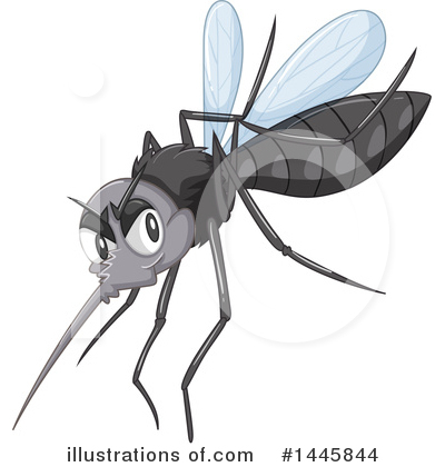 Mosquito Clipart #1445844 by Graphics RF