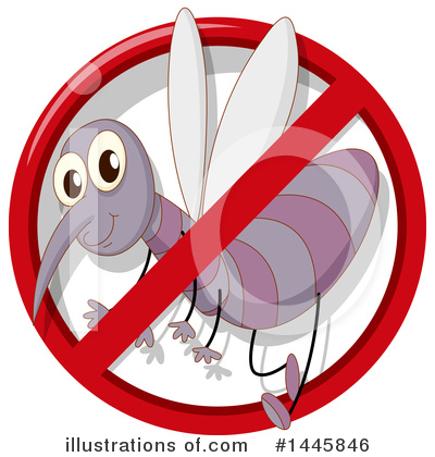 Mosquito Clipart #1445846 by Graphics RF