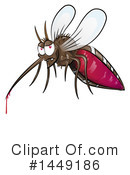 Mosquito Clipart #1449186 by Domenico Condello