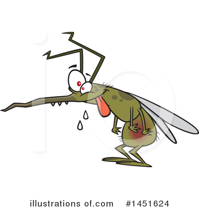 Mosquito Clipart #1451624 by toonaday