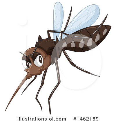Mosquito Clipart #1462189 by Graphics RF