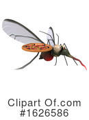 Mosquito Clipart #1626586 by Julos