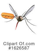 Mosquito Clipart #1626587 by Julos
