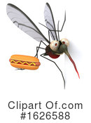 Mosquito Clipart #1626588 by Julos