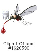 Mosquito Clipart #1626590 by Julos