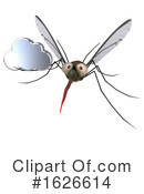 Mosquito Clipart #1626614 by Julos
