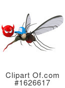 Mosquito Clipart #1626617 by Julos