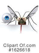 Mosquito Clipart #1626618 by Julos