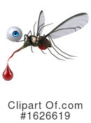 Mosquito Clipart #1626619 by Julos
