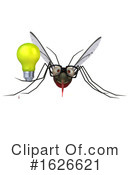 Mosquito Clipart #1626621 by Julos