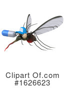 Mosquito Clipart #1626623 by Julos