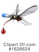Mosquito Clipart #1626624 by Julos