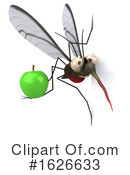 Mosquito Clipart #1626633 by Julos