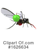 Mosquito Clipart #1626634 by Julos