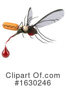 Mosquito Clipart #1630246 by Julos