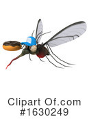 Mosquito Clipart #1630249 by Julos