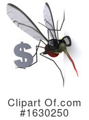 Mosquito Clipart #1630250 by Julos