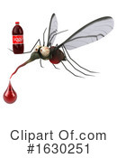 Mosquito Clipart #1630251 by Julos