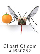 Mosquito Clipart #1630252 by Julos