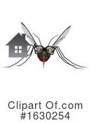 Mosquito Clipart #1630254 by Julos